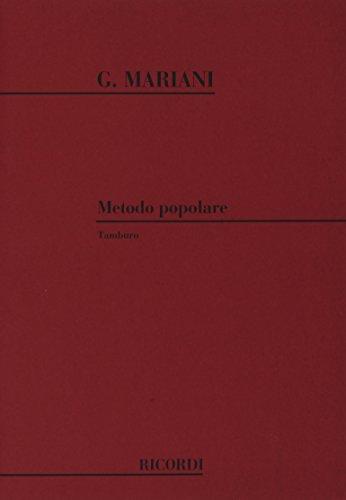 9780041034752: Metodo Popolare - Percussion instruments - SCORE