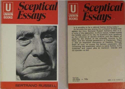 9780041040029: Sceptical Essays (U.Books)