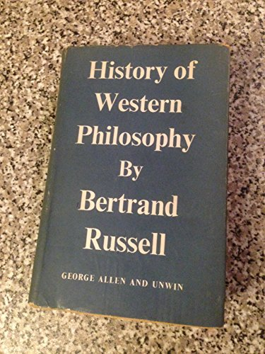 9780041090086: A History of Western Philosophy