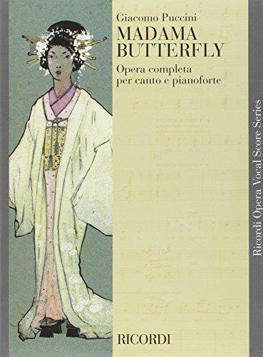 9780041100006: Partition classique RICORDI PUCCINI G. - MADAMA BUTTERFLY - CHANT ET PIANO Voix solo, piano