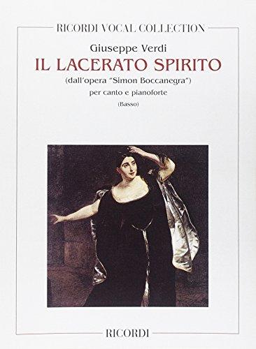 9780041100952: Simon Boccanegra: Il Lacerato Spirito