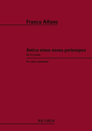 9780041236231: Antica Ninna - Nanna Partenopea