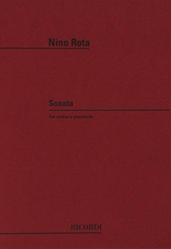 9780041243734: Partitions classique RICORDI ROTA N. - SONATA - VIOLON ET PIANO Violon
