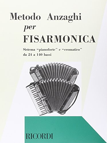 9780041257373: RICORDI ANZAGHI L.O. - METODO COMPLETO TEORICO-PRATICO PROGRESSIVO Educational books Accordion