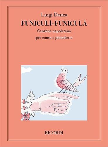 9780041267921: RICORDI DENZA L. - FUNICULI-FUNICULA' - VOIX MEZZO-SOPRANO ET BARITON Classical sheets Voice solo, piano