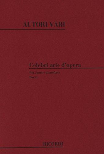 9780041275377: RICORDI CELEBRI ARIE D'OPERA VOLUME 6: BASSO - CHANT ET PIANO Classical sheets Choral and vocal ensembles