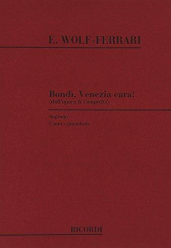 9780041276329: Il Campiello: Bondi', Venezia Cara!