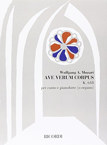 9780041276718: Ave Verum Corpus, Mottetto Per Coro Misto, - Vocal and Piano - SCORE