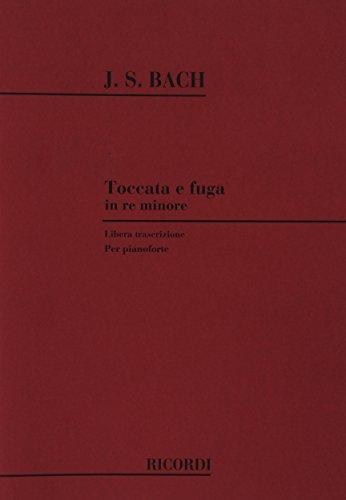 9780041283228: J.S. BACH Toccata e fuga in re minore (Libera trascrizione per pianoforte)