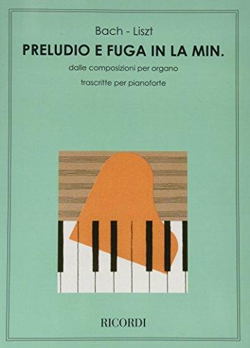 9780041284263: PRELUDIO E FUGA IN LA MIN. BWV 543 DI J. S. BACH