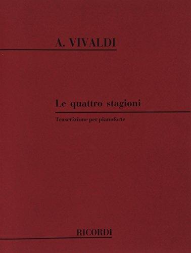 9780041291902: Hal Leonard Vivaldi Four Seasons for Piano (Original Italian Text)