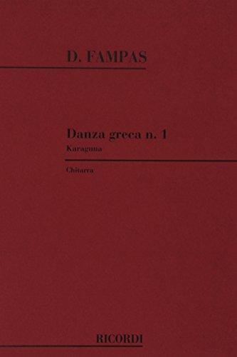 9780041299533: DANZA GRECA N. 1. KARAGUNA