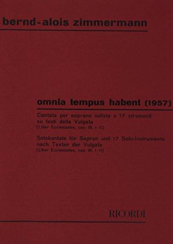 9780041299946: Omnia Tempus Habent