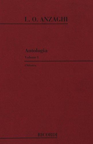 Antologia Per Chitarra Guitare: Luigi Oreste Anzaghi