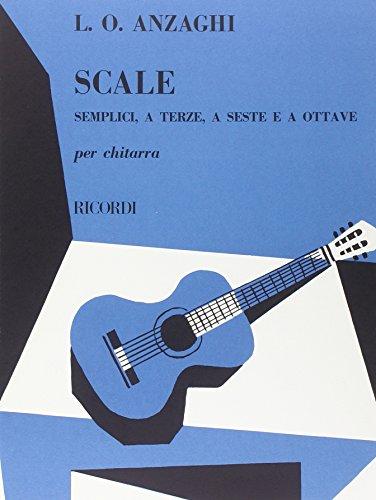Scale Semplici, a Terze, a Seste E: Luigi Oreste Anzaghi