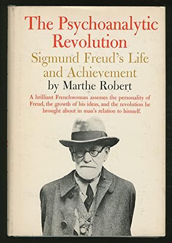 Psychoanalytic Revolution (0041310179) by Marthe Robert