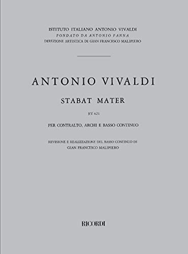 9780041315639: Stabat Mater Rv 621 Orchestre