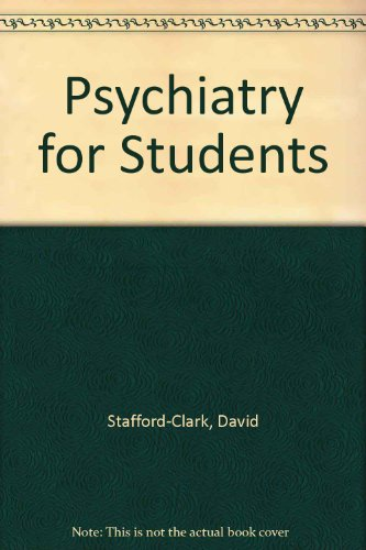 9780041320169: Psychiatry for Students