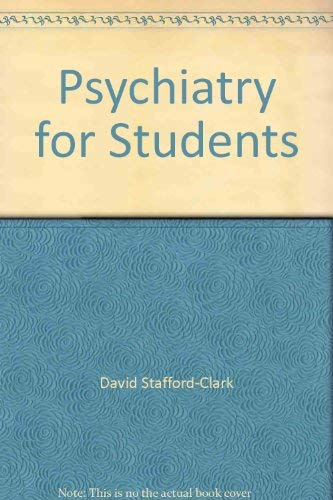 9780041320176: Psychiatry for Students