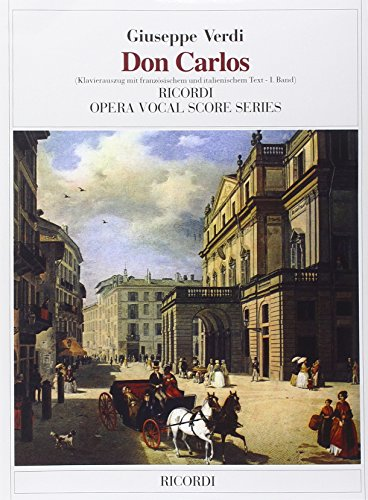 9780041322132: RICORDI VERDI G. - DON CARLOS - CHANT ET PIANO Classical sheets Voice solo, piano