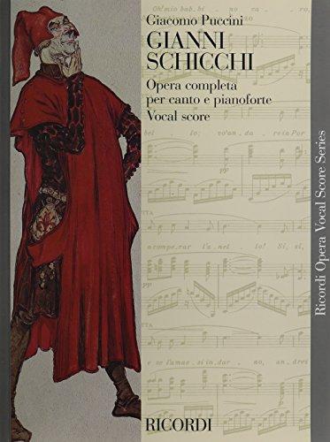 9780041328486: Gianni schicchi [e/I] : opera completa per canto e pianoforte