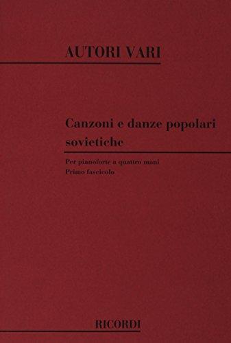 9780041329414: Canzoni E Danze Popolari Sovietiche Piano