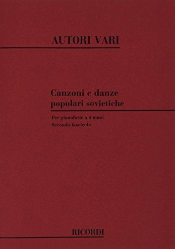 9780041329421: Canzoni E Danze Popolari Sovietiche