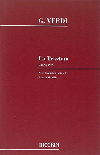 9780041329841: La traviata. chorus parts chant