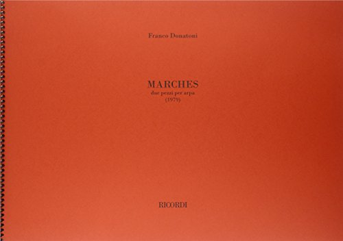 9780041329988: RICORDI DONATONI F. - MARCHES 2 PEZZI - HARPE Classical sheets Harp