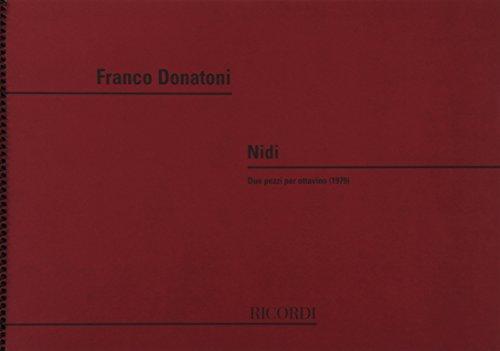 9780041329995: RICORDI DONATONI F. - NIDI - FLUTE Classical sheets Transverse Flute