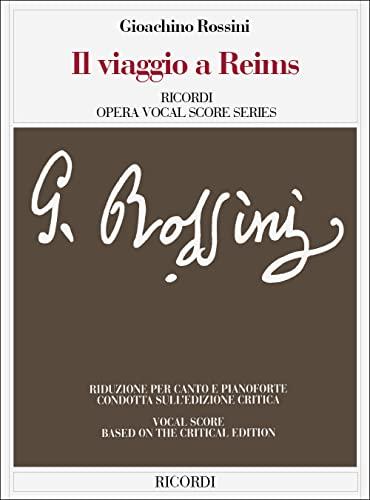9780041338218: Partitions classique RICORDI ROSSINI G. - IL VIAGGIO A REIMS - CHANT ET PIANO Choeur et ensemble vocal