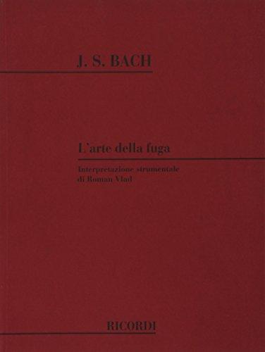 9780041338805: L'Arte Della Fuga Bwv 1080 - Wind Ensemble - SCORE