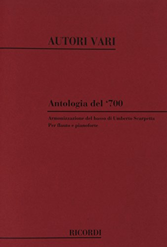 9780041339543: Antologia Del '700