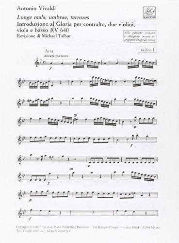 9780041345025: Longe Mala, Umbrae, Terrores Rv 640 Orchestre-Ensemble de Partitions