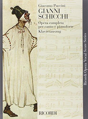9780041348750: Partitions classique RICORDI PUCCINI G. - GIANNI SCHICCHI - IN BROCHURE - CHANT ET PIANO Voix solo, piano