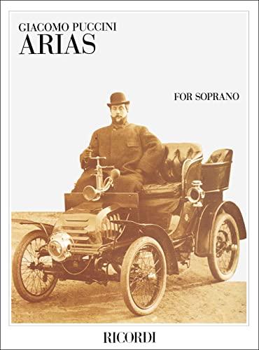 9780041355840: Partition classique RICORDI PUCCINI G. - ARIAS FOR SOPRANO - CHANT ET PIANO Voix solo, piano