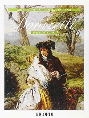 9780041365122: Donizetti per Basso Buffo - Bass Voice and Piano - SCORE