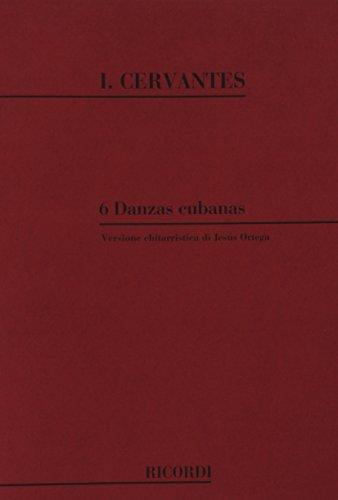 9780041365504: CERVANTES I. - Danzas Cubanas (6) para Guitarra