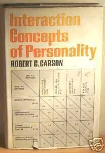 9780041370058: Interaction Concepts of Personality