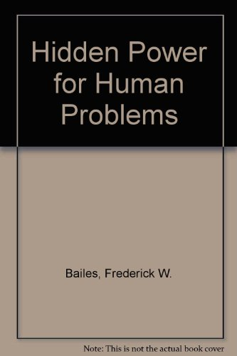 9780041370065: Hidden Power for Human Problems
