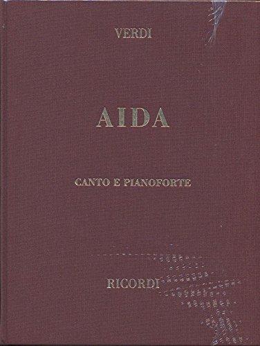 9780041370188: Partitions classique RICORDI VERDI G. - AIDA - CHANT ET PIANO Voix solo, piano