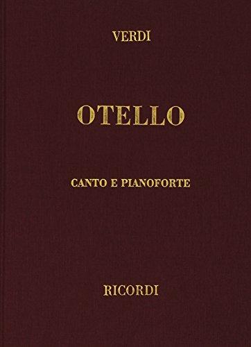 9780041370393: Otello - Vocal and Piano - SCORE