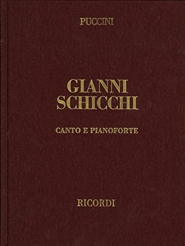9780041371161: Partitions classique RICORDI PUCCINI G. - GIANNI SCHICCHI - CHANT ET PIANO Voix solo, piano