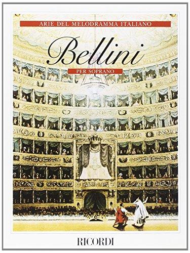 9780041377750: RICORDI BELLINI V. - ARIE DEL MELODRAMMA ITALIANO - VOIX SOPRANO