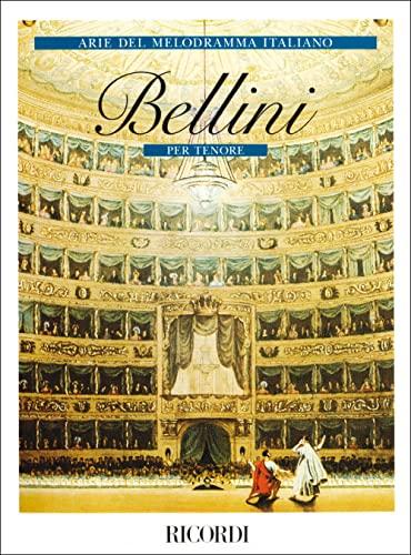 9780041381122: RICORDI BELLINI V. - ARIE DEL MELODRAMMA ITALIANO - TENORE Classical sheets Voice solo, piano