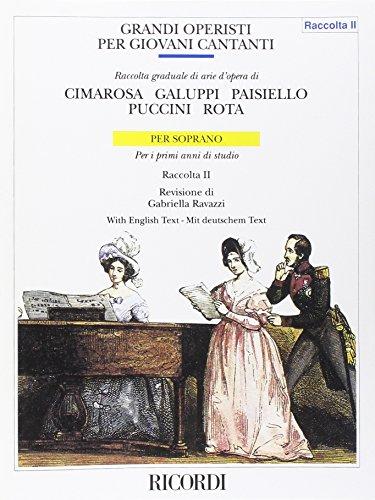 9780041386677: RICORDI GRANDI OPERISTICI SOPRANO VOL. 1 Partition classique Vocale - chorale Voix solo, piano