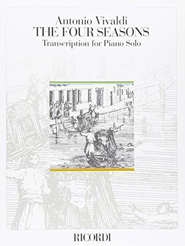 9780041389951: RICORDI VIVALDI A. - THE FOUR SEASONS - PIANO SOLO Classical sheets Piano