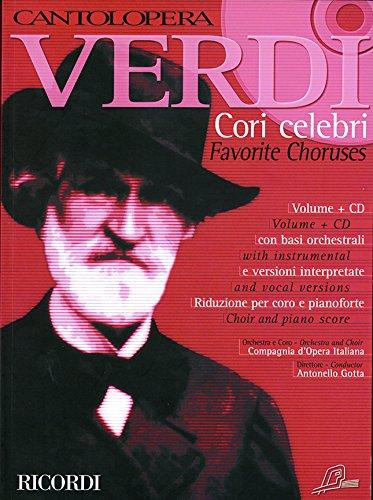 9780041391039: Cantolopera Verdi: Cori Celebri Favorite Choruses