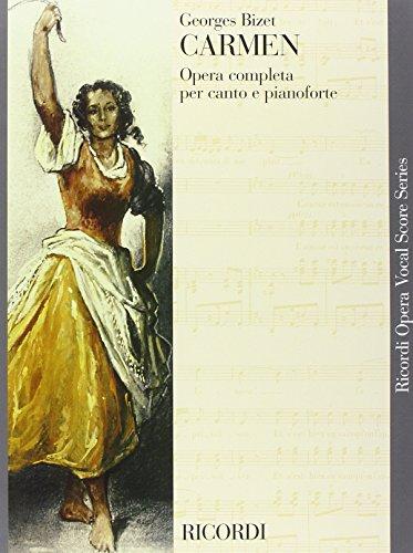 9780041394795: Partitions classique RICORDI BIZET G. - CARMEN - CHANT ET PIANO Voix solo, piano