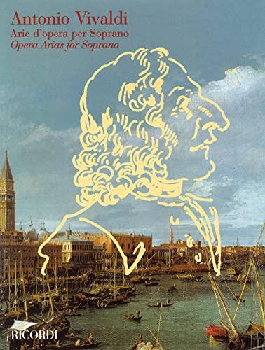 9780041395235: RICORDI VIVALDI A. - ARIE D'OPERA PER SOPRANO Classical sheets Voice solo, piano
